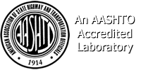 AASHTO Accredited Laboratory